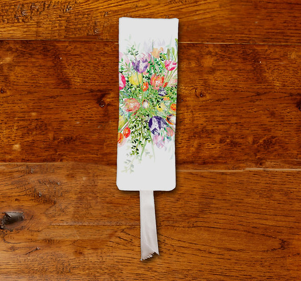 'Tulip Explosion' Bookmark
