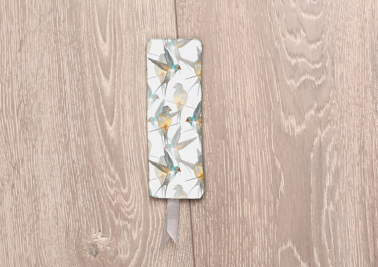 'A Flight of Swallows' Bookmark
