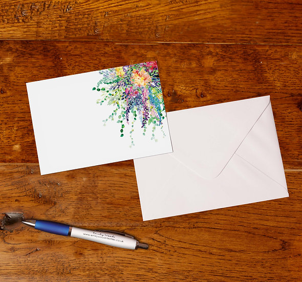 'Spring Bouquet' Notecards