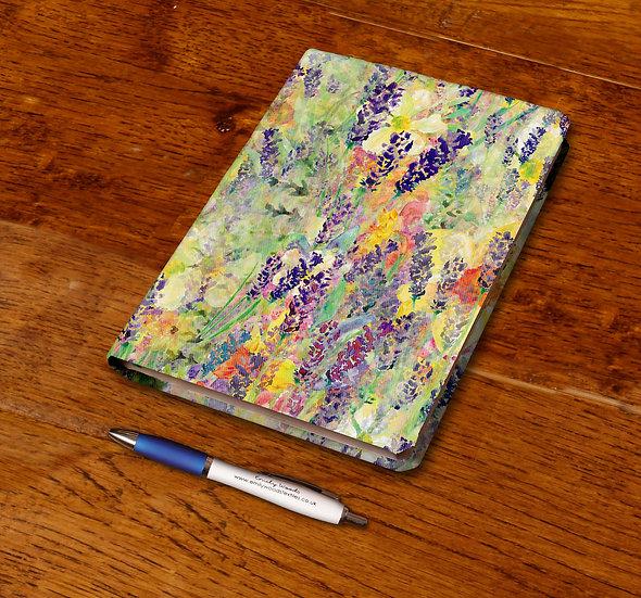 'Blooming Field' Notebook
