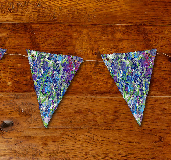 'Blooming Bluebells' Bunting