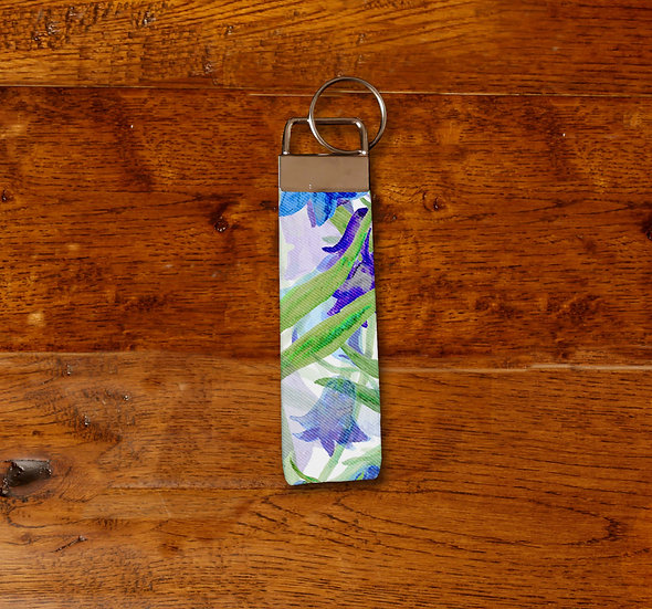 'Bluebell Clusters' Keyring