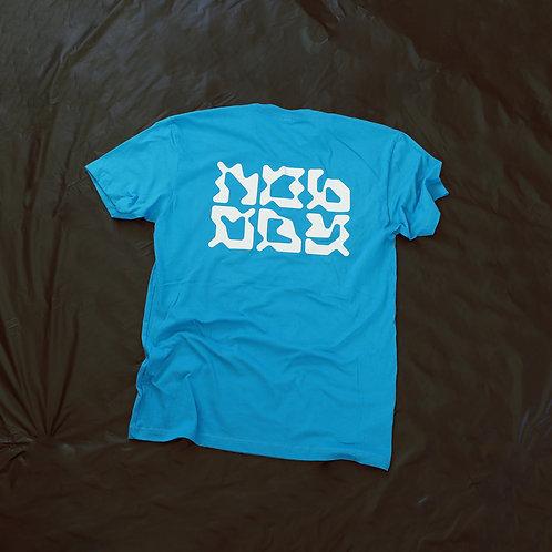 Nobody Blue Tee