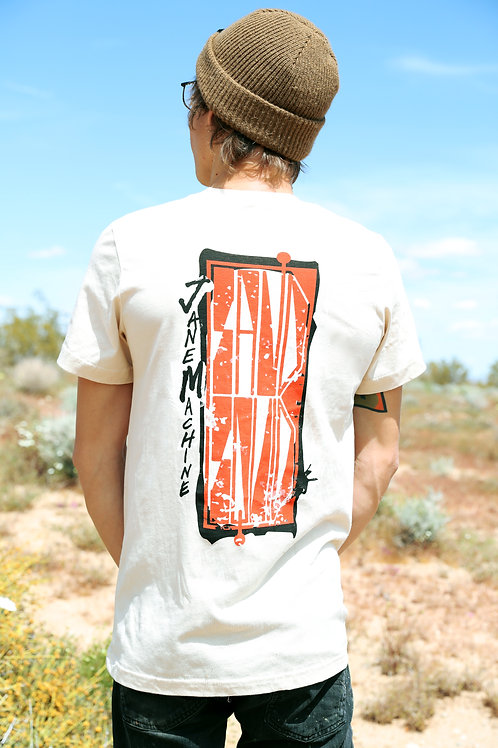 """Sand Squid"" cream ultrasoft unisex tee"