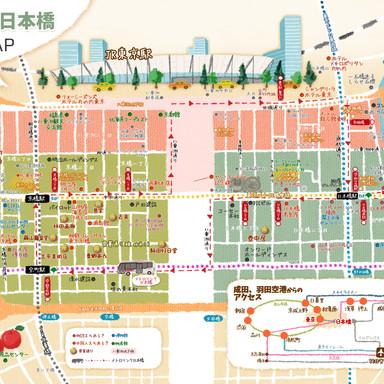 東京人 八重洲MAP