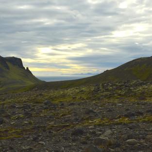 Wanderweg Skogafoss