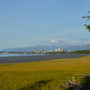 Anchorage vom Earthquake Park