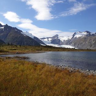 bei Portage Glacier