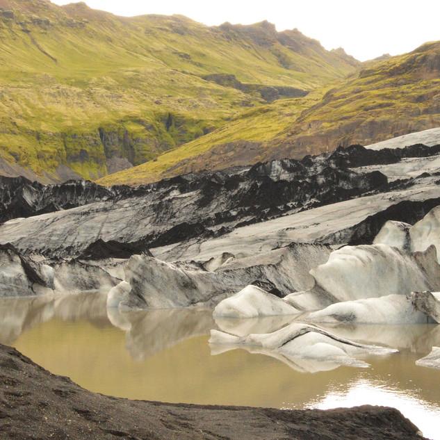 Solheimajoekull Gletscher