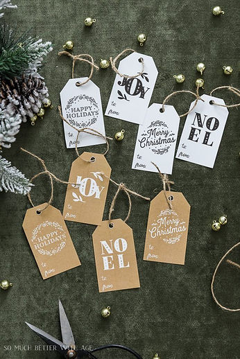 Christmas Printables + Inspiration Monda