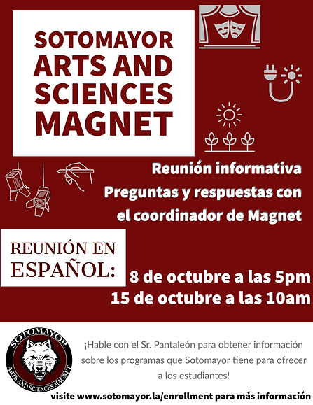 Informational Magnet Sessions Spanish Co
