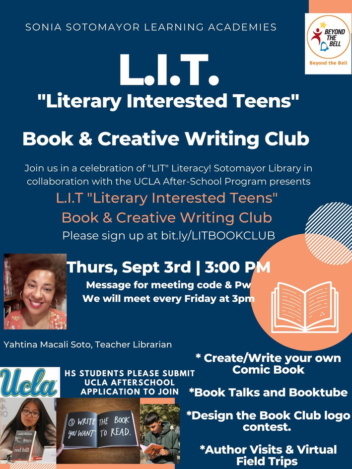 LIT _Literary Interested Teens_ CREATIVE