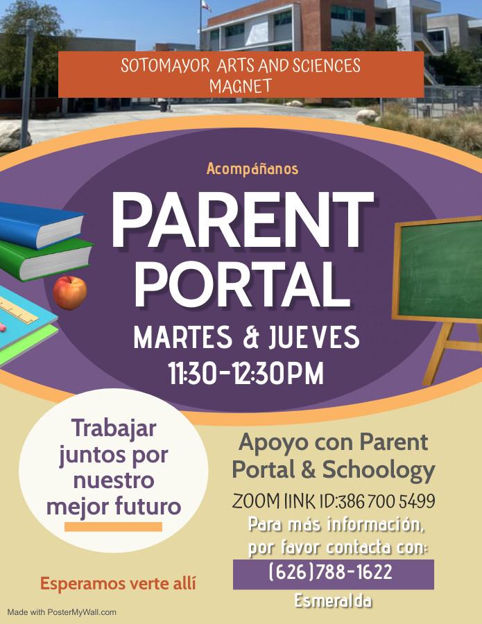 SPA sotomayor Parent Meeting Flyer - Mad