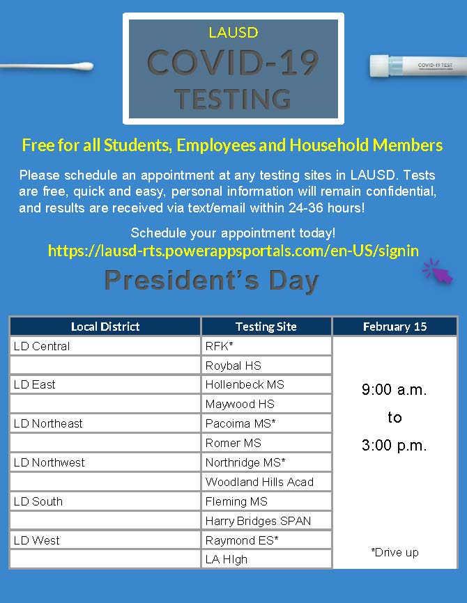 President's Day Testing Flyer (002) (002
