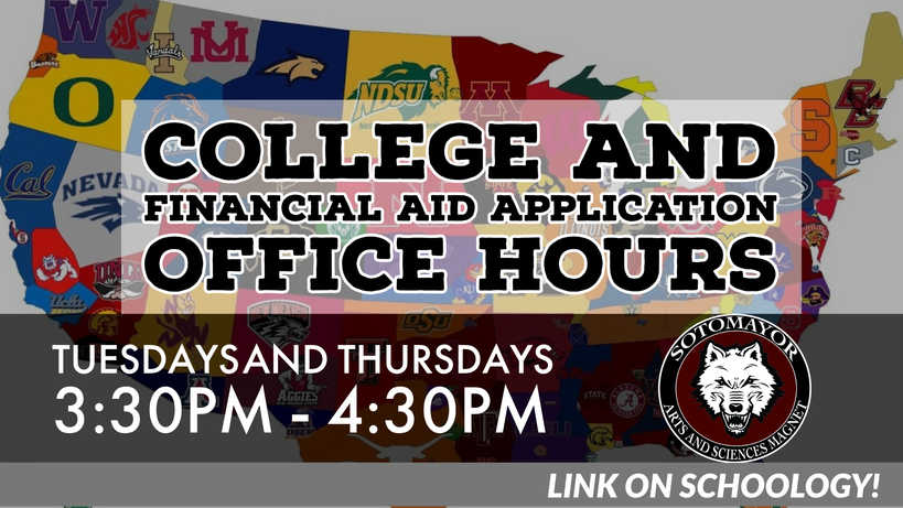 College and Financial Aid Office Hours.j