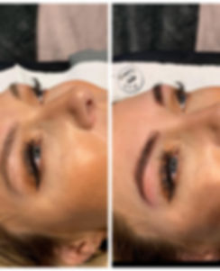 Eyebrow Eyelash tint and threading