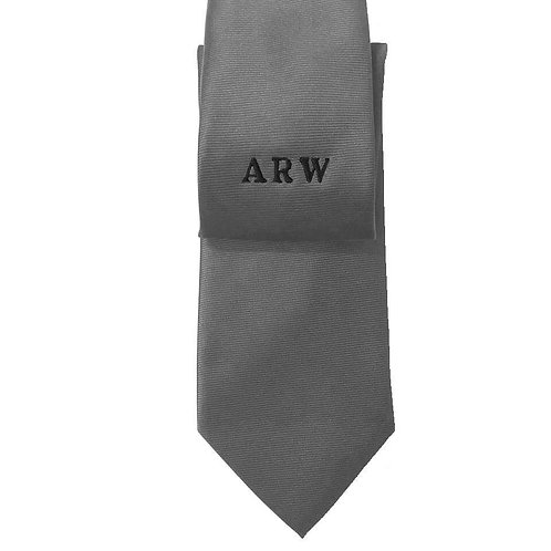 Fabrich Personalised Tie - Grey