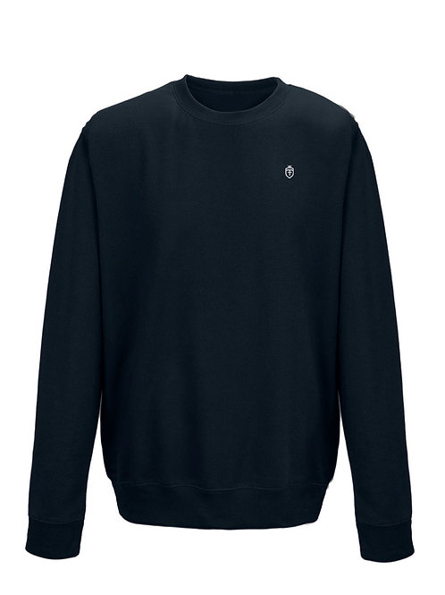 Fabrich Kids Navy 'Shield' Sweat