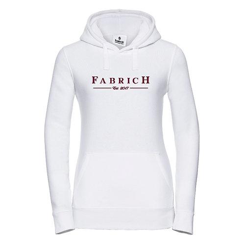 Fabrich White Est Hoodie