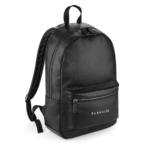 Fabrich Personalised Faux Leather Backpack
