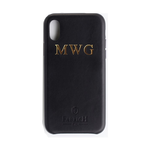 Fabrich Personalised Leather Case - iPhone X