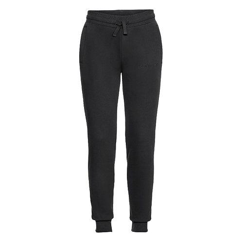 Fabrich Black Tonal Sweatpants