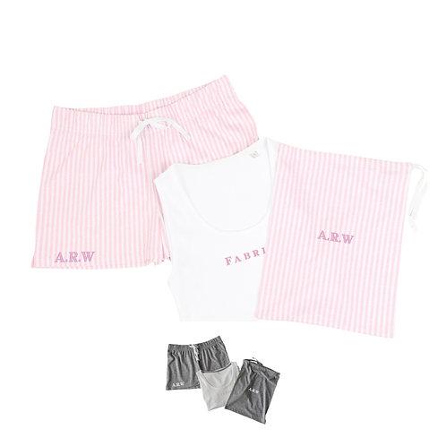 Personalised Short Pyjama Set in a Bag