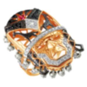 Эксклюзивные кольца из золота с бриллиантами