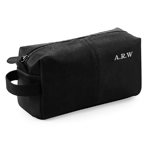 Fabrich Personalised Wash Bag - Black