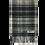 Thumbnail: Fabrich Tartan Lambswool Scarf - Grey Buchannan