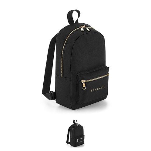 Personalised Metallic Zip Mini Backpack