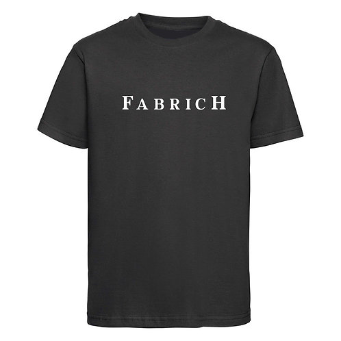 Fabrich Kids Black Tee