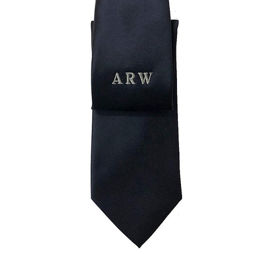 Fabrich Personalised Tie - Navy