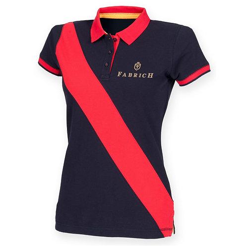 Fabrich Ladies Stripe Polo