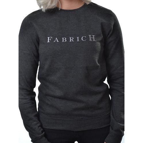 Fabrich 'Tonal' Black Heather Sweat