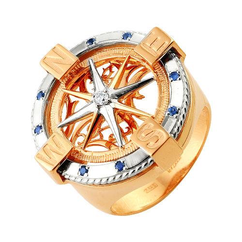 Эксклюзивные мужские изделия с бриллиантами и золота