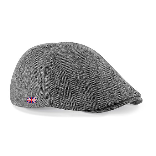 Fabrich Union Flat Cap - Grey