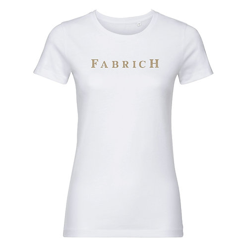 Fabrich White/Gold Tee