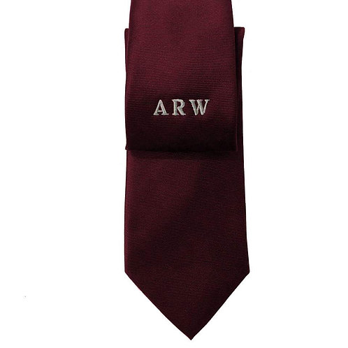 Fabrich Personalised Tie - Wine