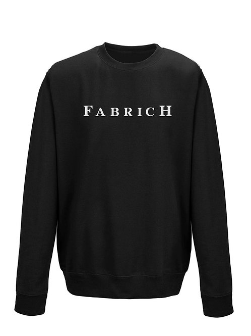 Fabrich Kids Black Sweat