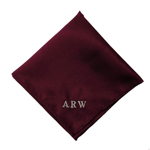 Fabrich Personalised Pocket Square - Wine