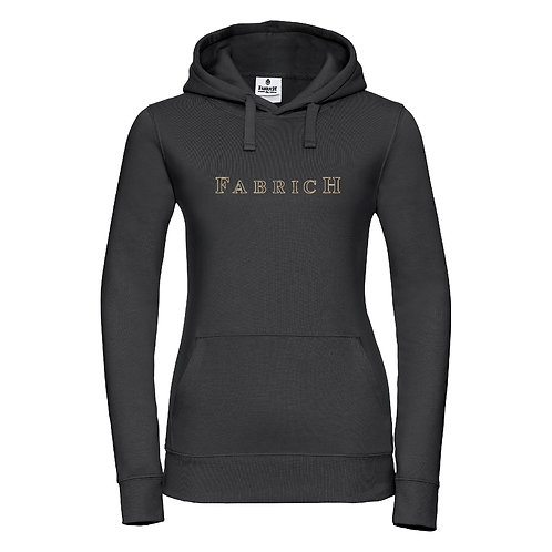 Fabrich Outline Black/Gold Hoodie