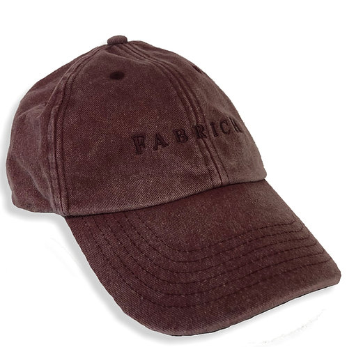 Fabrich Vintage Denim Cap - Red