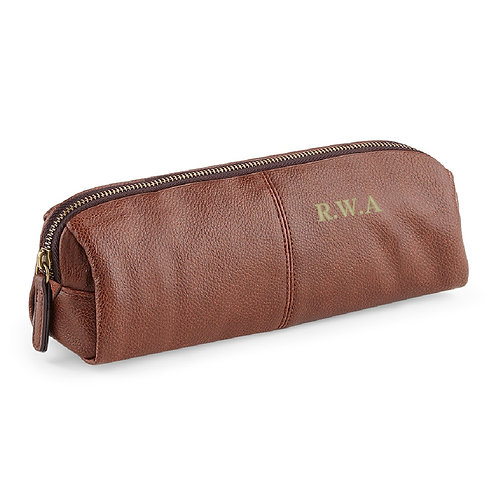 Fabrich Personalised Pencil Case - Brown