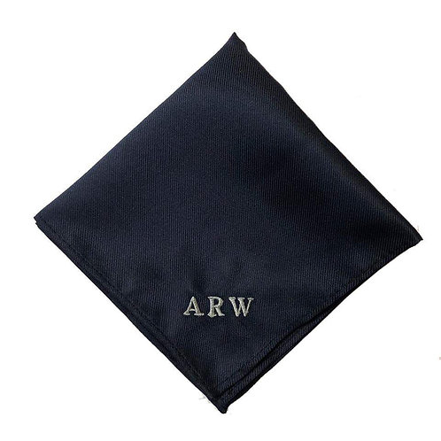 Fabrich Personalised Pocket Square - Navy