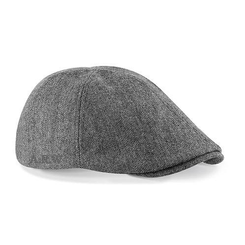 Fabrich Personalised Flat Cap - Grey