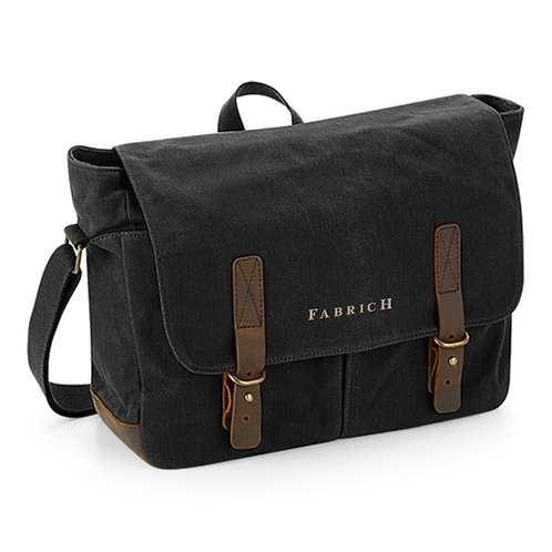 Fabrich Waxed Canvas Messenger