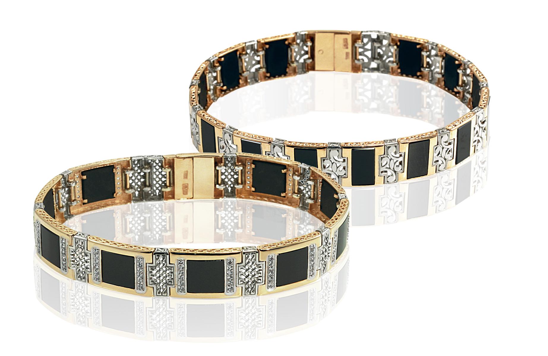 """Men's brand bracelets """"BADINI"""""""