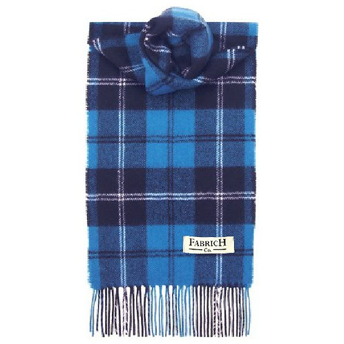 Fabrich Lambswool Scarf - Ramsay Blue Ancient