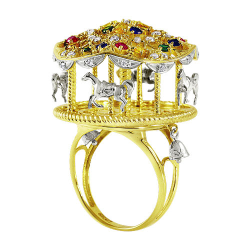 "Ring  ""Fair carousel"""